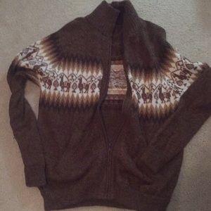 Alpaca Sweater (Llama Print Alpaca Print) Wool